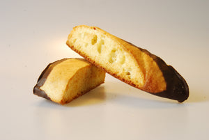 Biscotti, Plain (Anise) Dipped