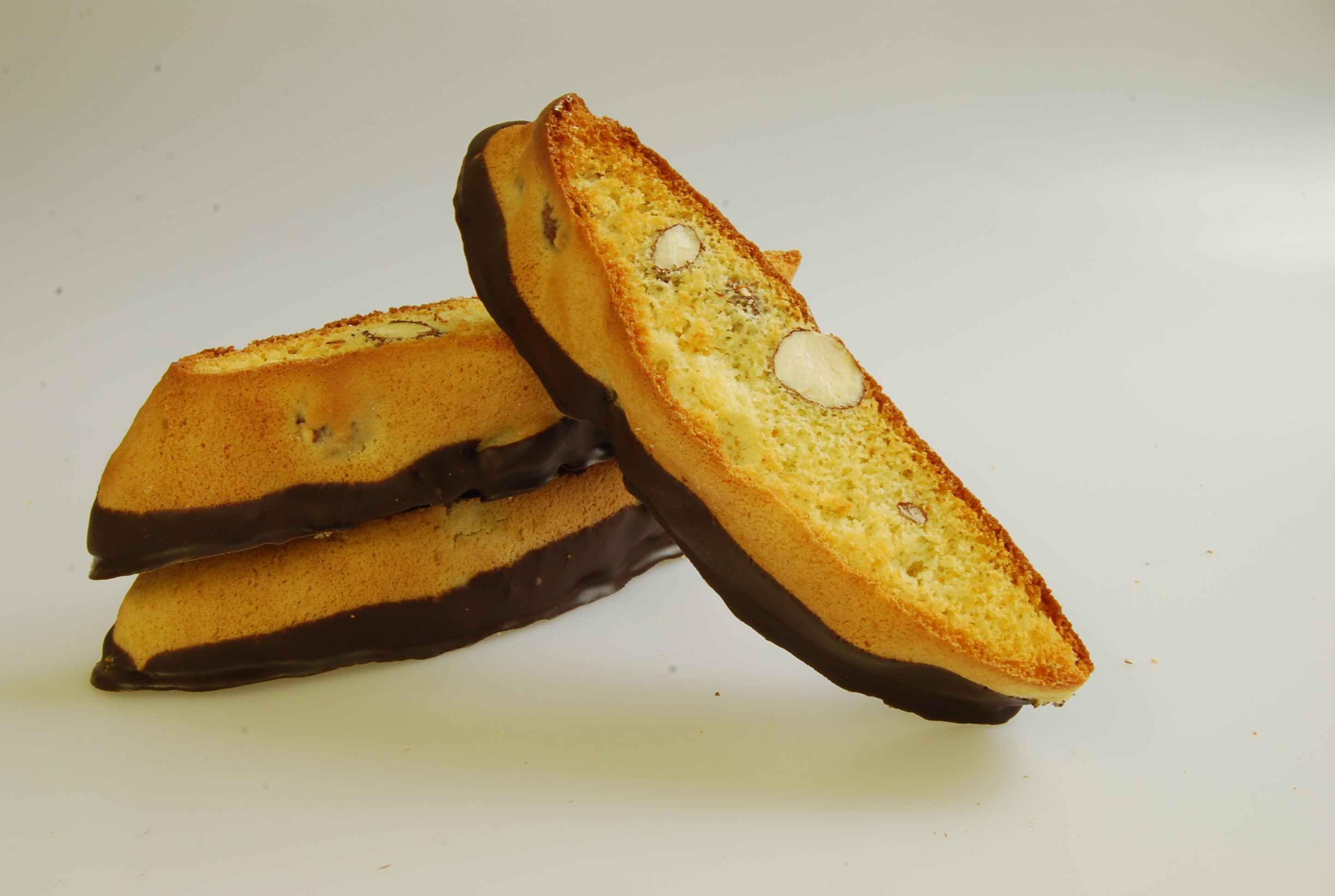 Biscotti, Almond Dipped