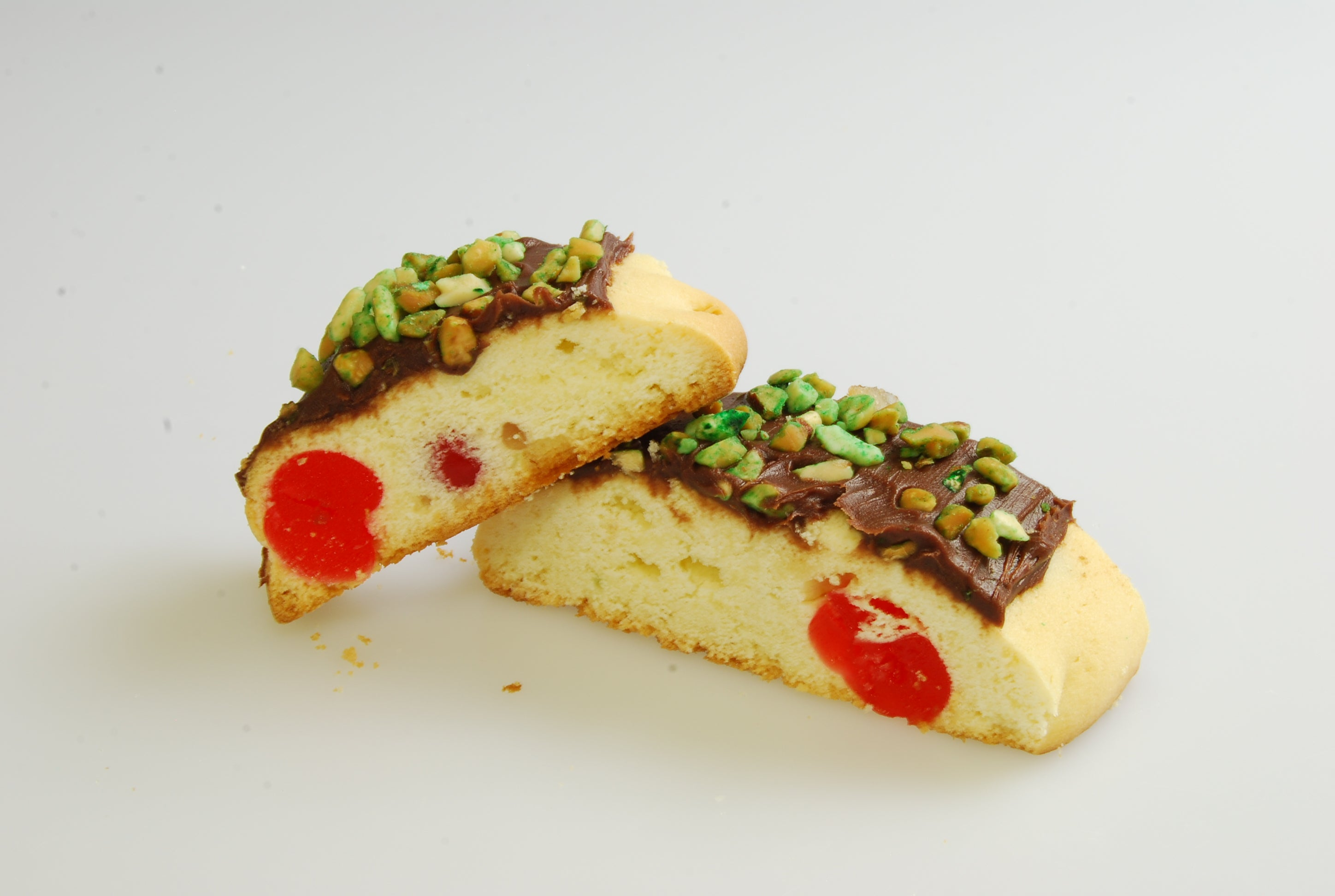 Slices with Fruits and Nuts