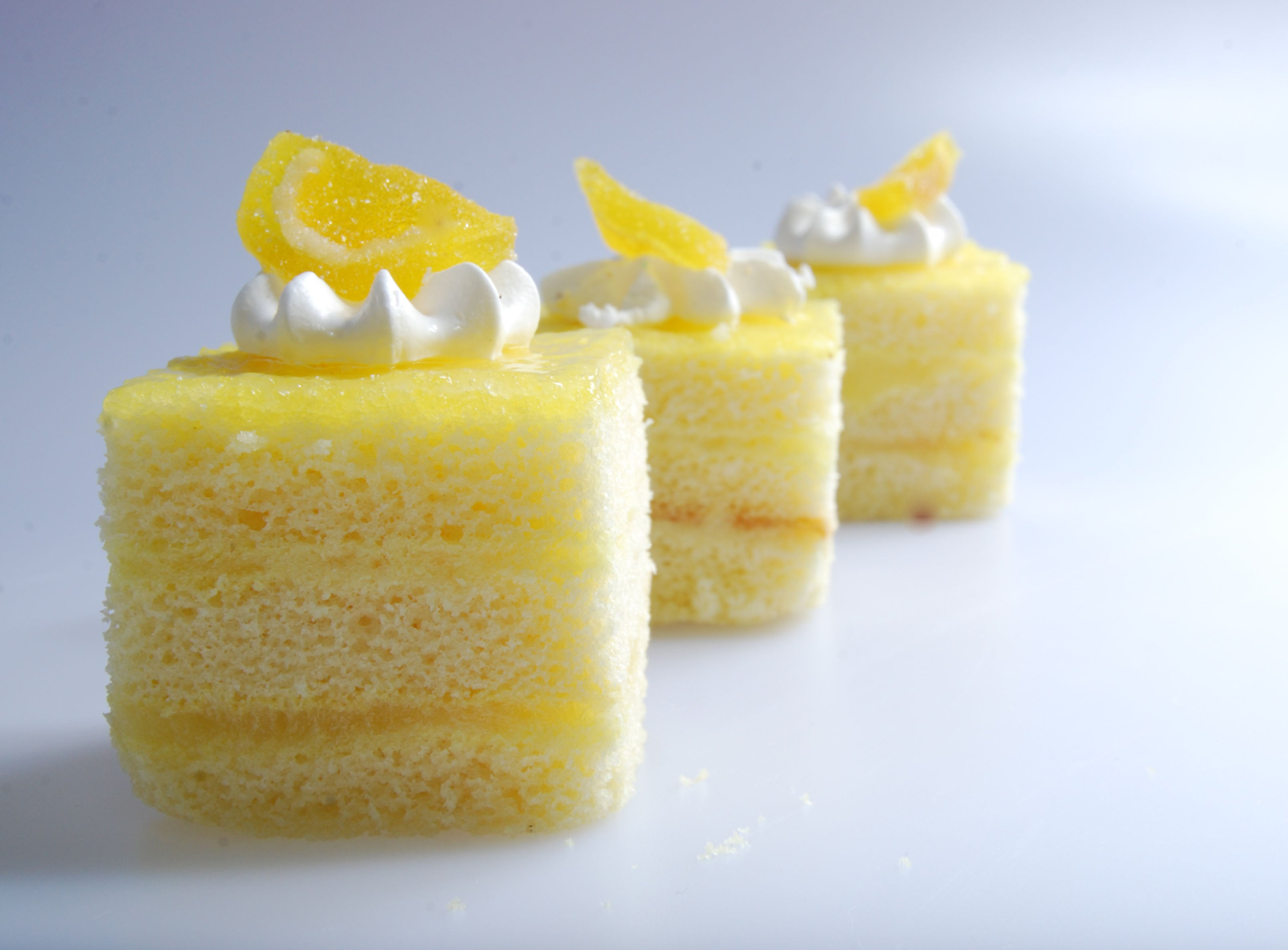 Lemon Cake Slice, Mini