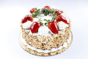 Fresh Strawberry Torte
