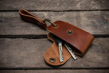 Load image into Gallery viewer, Key holder, Italian leather