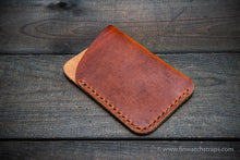 Load image into Gallery viewer, Card holder Leather Horween Dublin Cognac