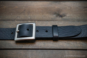 Italian leather belt (3,5-4 mm thick) width 38 mm
