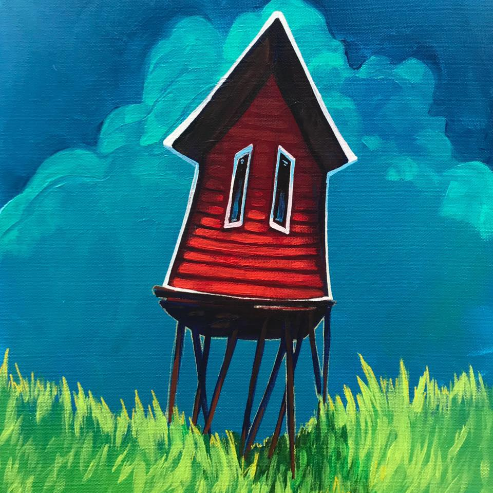 Lisa Doucet Reviews Adam & Jennifer Young's The Little Red Shed