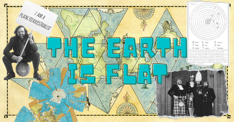 Time to Laugh Featured Book: The Earth is Flat!