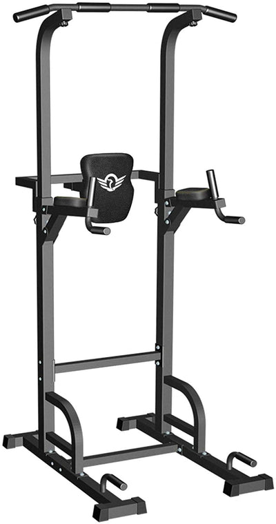 Power Tower Dip Station Pull Up Bar for Home Gym-400LBS.