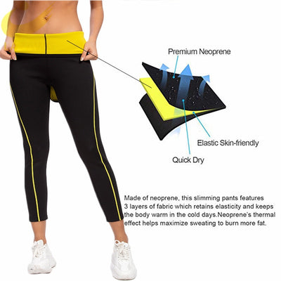 Neoprene Sauna Slimming Pants