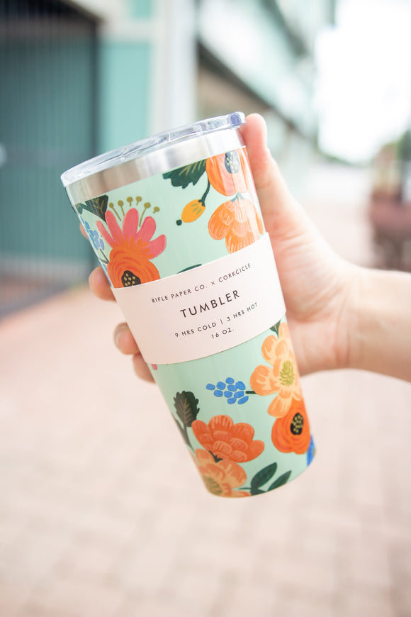 CORKCICLE. x RIFLE PAPER CO. TUMBLER 16oz.