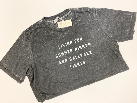 BALL PARK LIGHTS FLASH SALE TEE