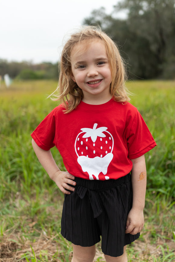 DIPPED BERRY KID'S TEE