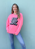 KNOW YOUR WORTH, ADD TAX SWEATSHIRT
