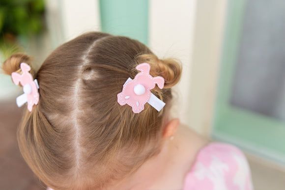 EASTER PIGTAIL CLIPS