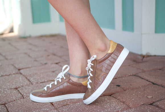 COCO LOW TOP SNEAKERS