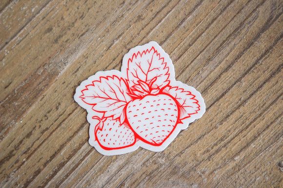 STRAWBERRY STICKER #4