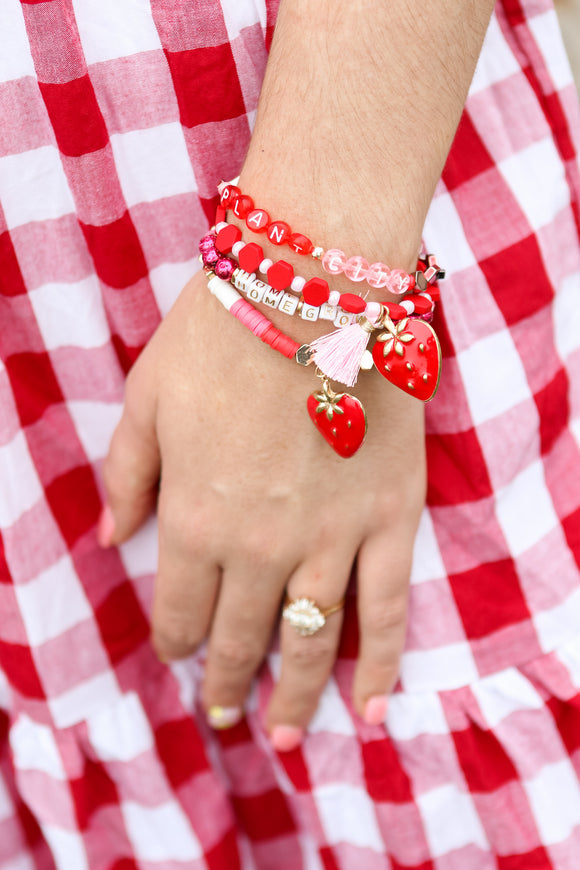 ERIMISH STRAWBERRY PLANT CITY BRACELET