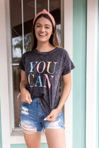 YES, YOU CAN GRAPHIC TEE