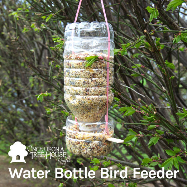 Water Bottle Bird Feeder Craft