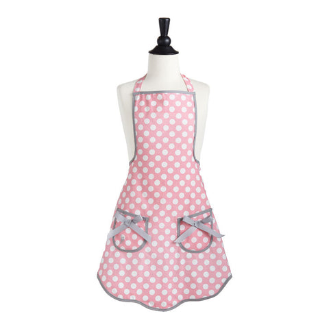 Child's Polka Dot Apron