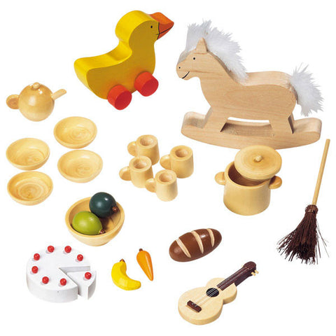 Dollhouse Assorted Accessories Set