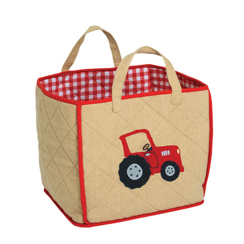 Barn Toy Tote