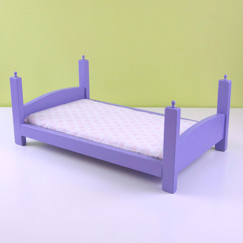 Lilac Stacking Doll Bed