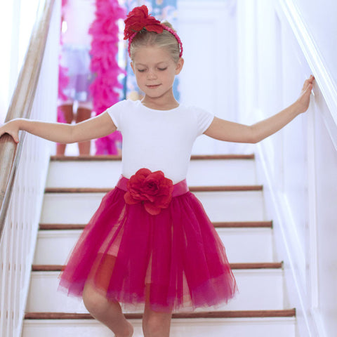 Berry Tutu Skirt