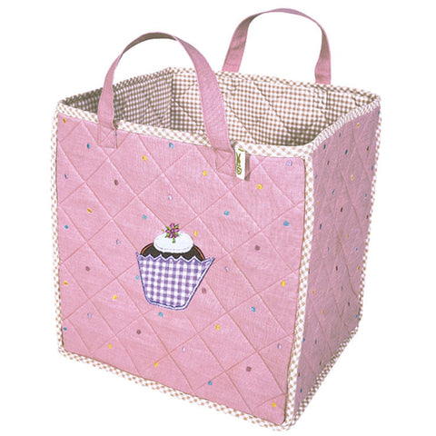 Child's Cupcake Toy Tote