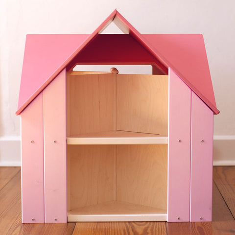 Custom Cottage Dollhouse Pink Pink