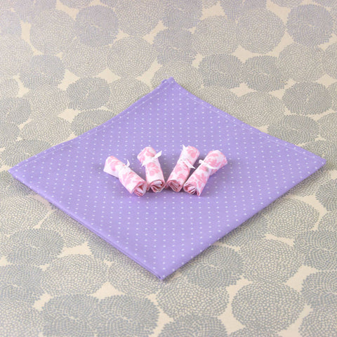 Doll Lavender Table Linens