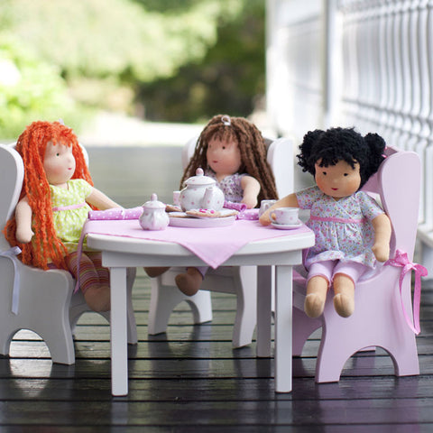 Doll Pink Table Linens
