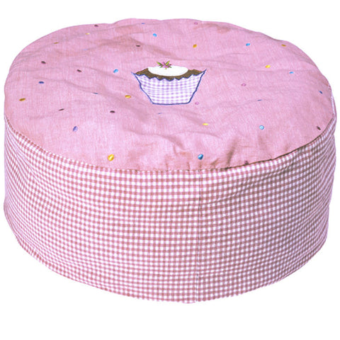 Child's Cupcake Bean Bag