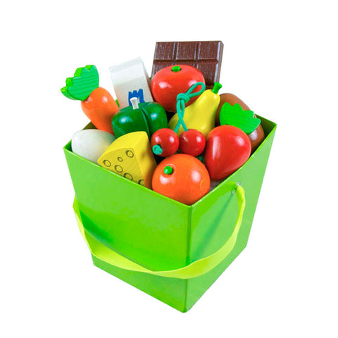 Grocery Items with Tote