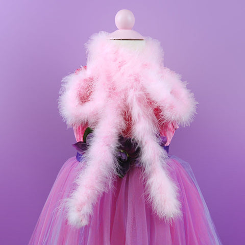 Light Pink Marabou Boa