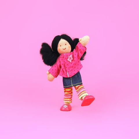 Eco-Friendly Dollhouse Girl Doll Lily