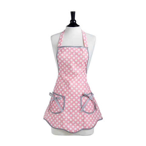 Mom's Polka Dot Apron