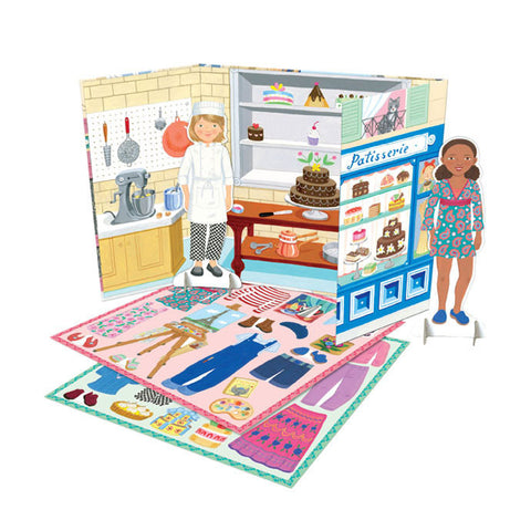 Baker & Painter Paper Dolls
