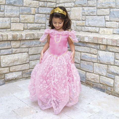 Pink & Gold Princess Dress