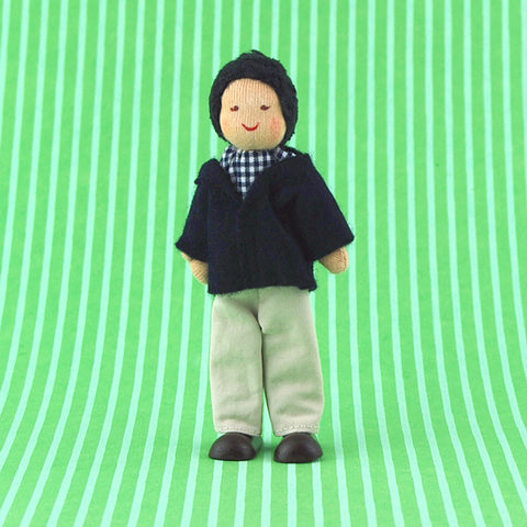 Eco-Friendly Dollhouse Dad Doll Quince