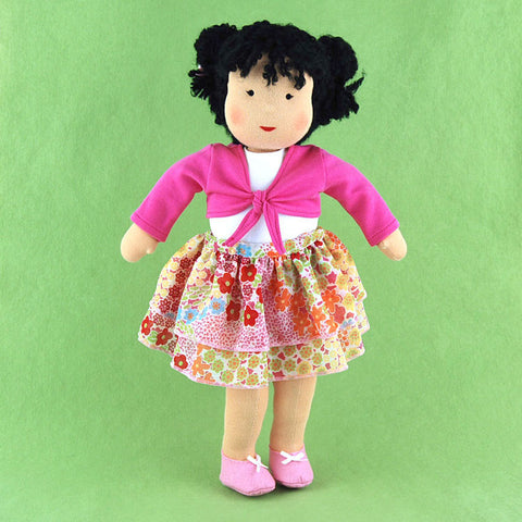 15 Inch Doll Skirt and Shrug Outfit
