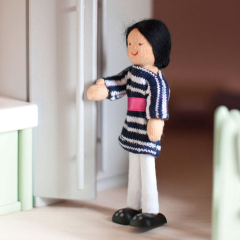 Eco-Friendly Dollhouse Mom Doll Sky