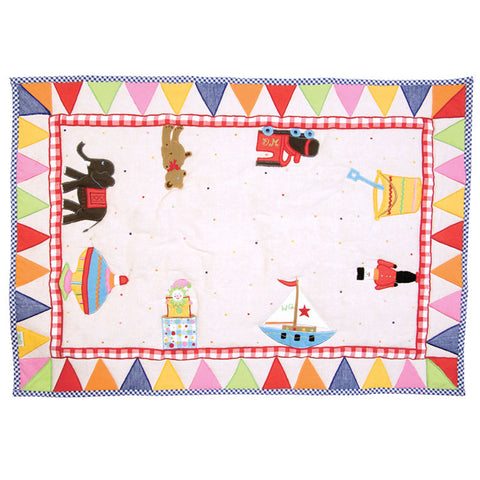 Child's Toy Shop Floor Quilt