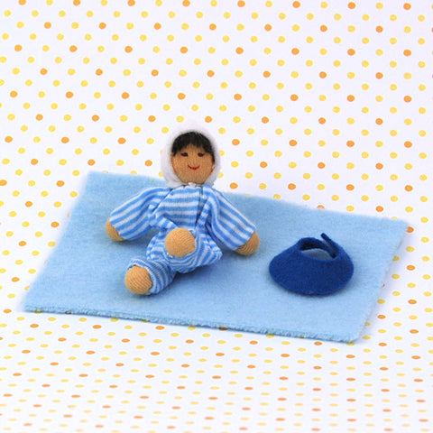 Eco Friendly Dollhouse Doll Baby Bluebell