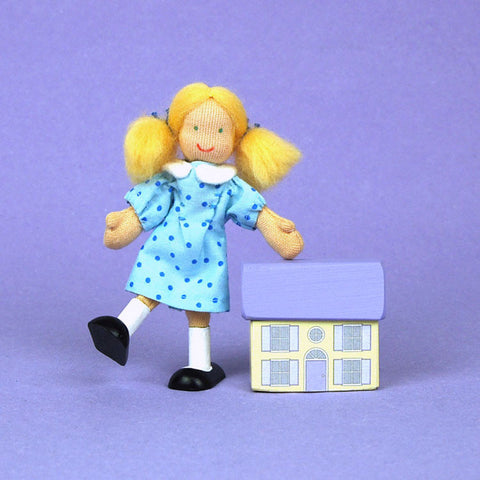 Eco-Friendly Dollhouse Doll Betsy J
