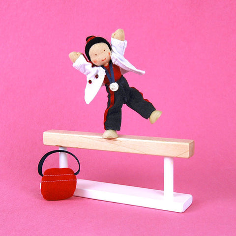 Eco-Friendly Dollhouse Girl Doll Goldy the Gymnast