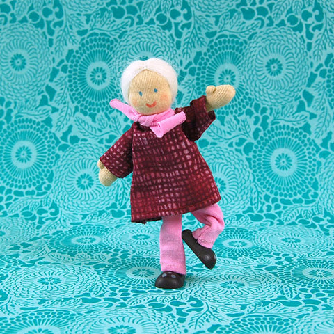 Eco-Friendly Dollhouse Doll Grandma Pearl
