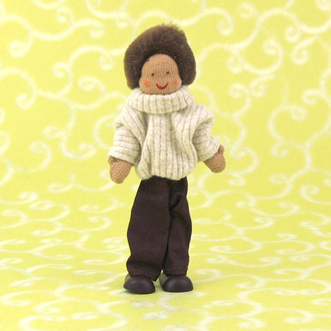 Eco-Friendly Dollhouse Dad Doll Hawthorn