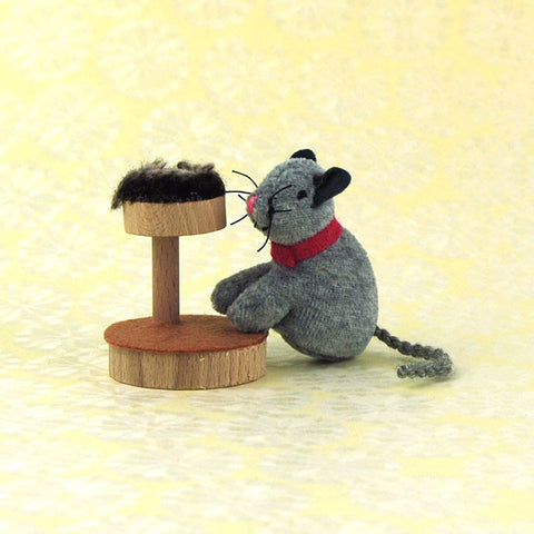 Eco-Friendly Dollhouse Animal Doll Catnip the Cat