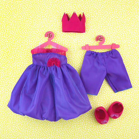 15 Inch Doll Princess Outfit
