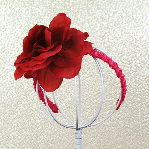 Berry Fascinator Headband